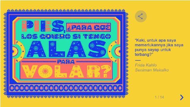 Frida Kahlo hingga Yoko Ono Si Wajah Google Doodle Hari Ini