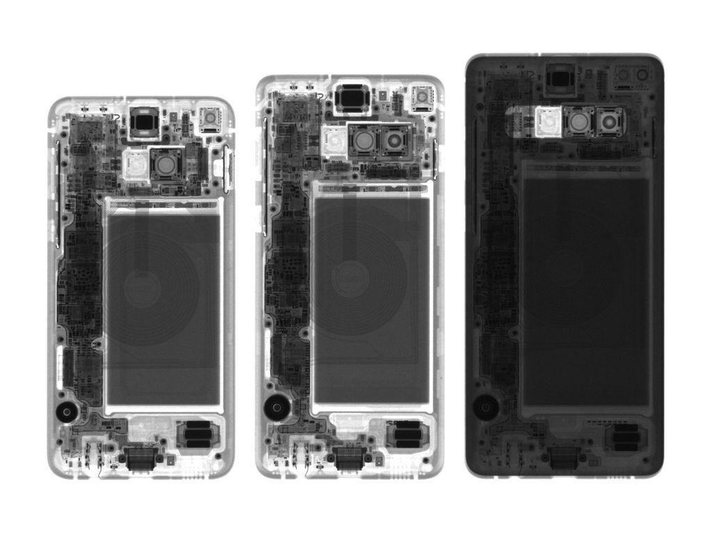 Seperti yang diperkirakan, sulit untuk membongkar ponsel flagship Samsung yang terbaru ini. Foto: iFixit