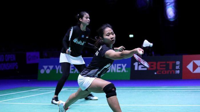 Ni Ketut Mahadewi Istarani/Rizki Amelia Pradipta diharapkan bsia menjadi juara di India Terbuka 2019. (dok, Humas PBSI)