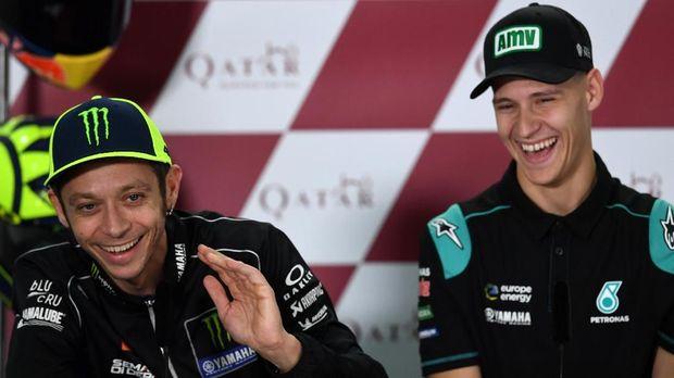 Valentino Rossi akan digantikan Fabio Quartararo di Yamaha mulai MotoGP 2021.
