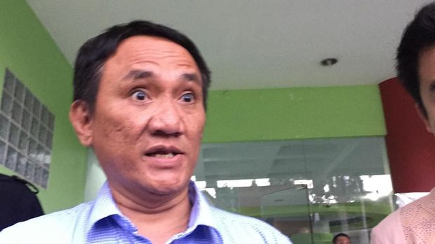 Politikus Partai Demokrat Andi Arief.