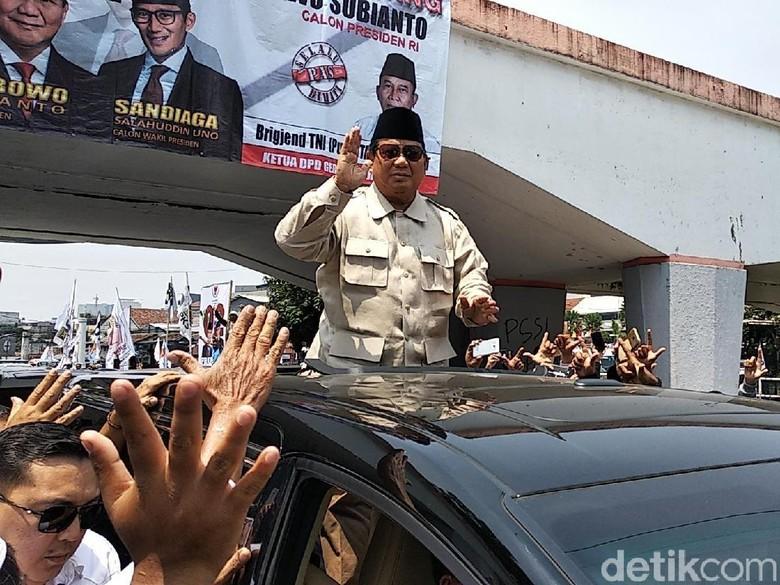 TKD Sebut Jokowi Unggul di Jabar, BPD Prabowo: Mereka Siap-Siap Kalah