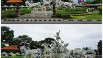 Potret Aktivitas Saat dan Sesudah Nyepi di Bali