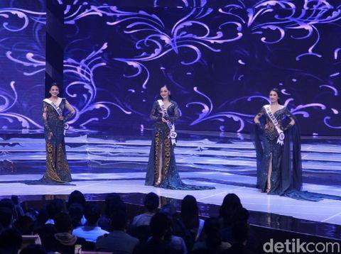 Tiga besar Puteri Indonesia 2019.