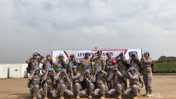 Perempuan jadi pasukan perdamaian PBB /