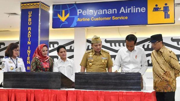 Jokowi Minta Bandara Radin Inten Lampung Punya Kereta Khusus