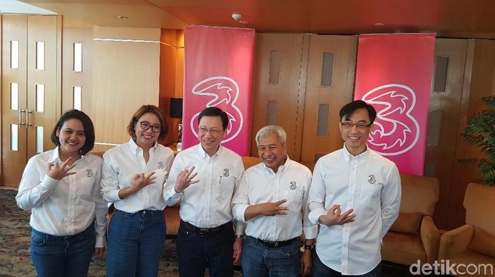 Hutchison Tri Indonesia (Tri) membuka diri terhadap peluang konsolidasi operator seluler. (Foto: Kris F/detikINET)