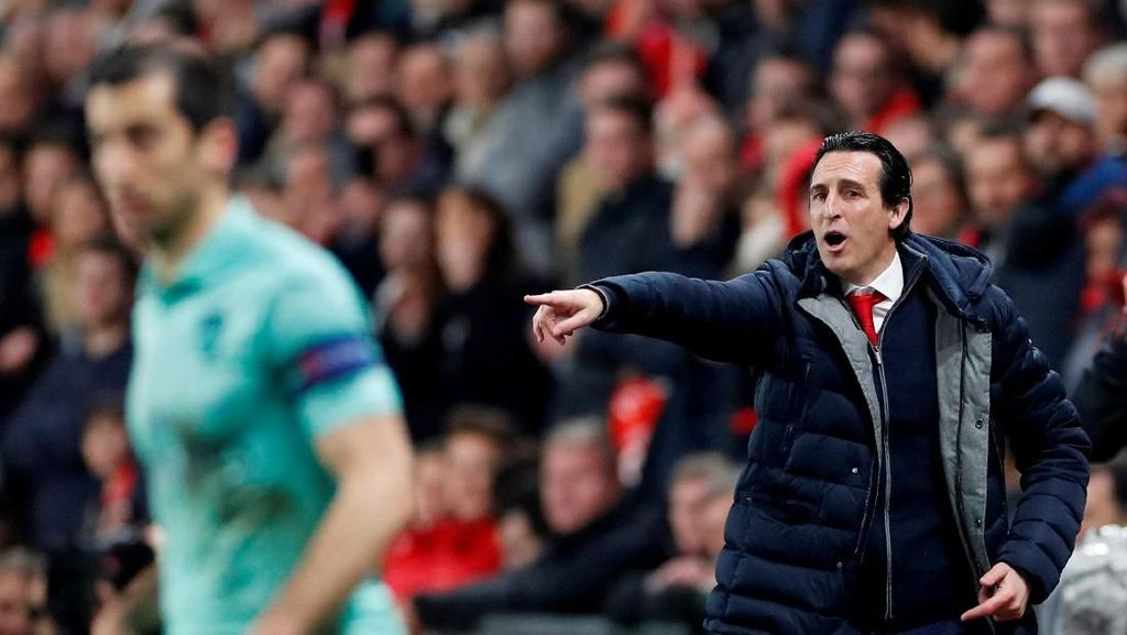 Habiskan Rp 2,84 T, Emery Wajib Loloskan Arsenal ke Liga Champions