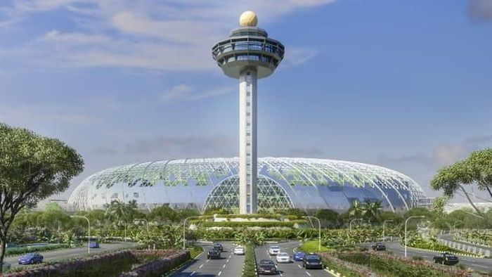 Jewel Changi Airport Singapura