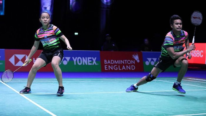 Tontowi Ahmad/Winny Kandouw kandas di perempatfinal All England 2019 (dok. PBSI)