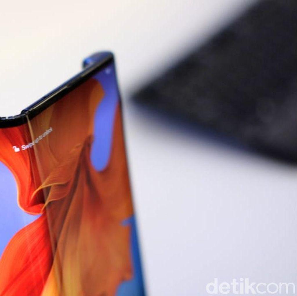 Huawei Ikutan Tunda Rilis Ponsel Layar Lipatnya