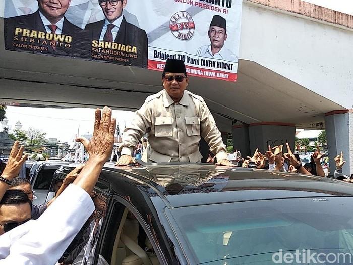 Prabowo Subianto (Dony Indra Ramadhan/detikcom)