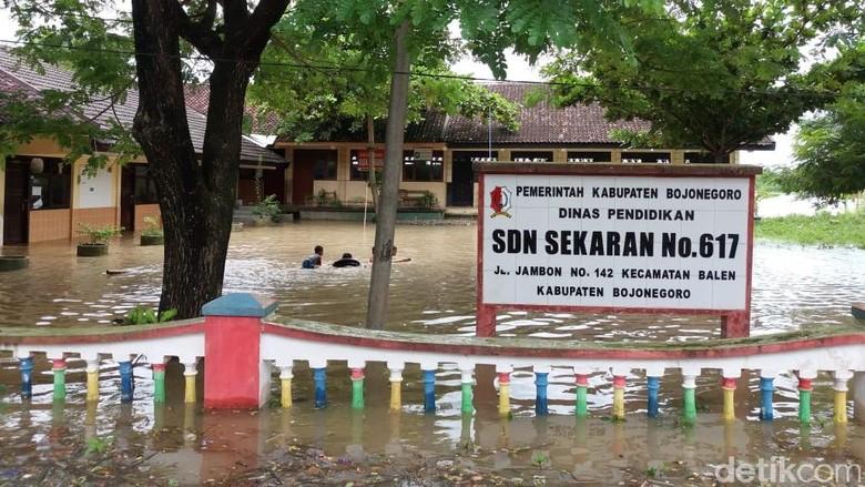 Banjir Bojonegoro Rendam 27 Desa, Kerugian Ditaksir Lebih Rp 1 Miliar