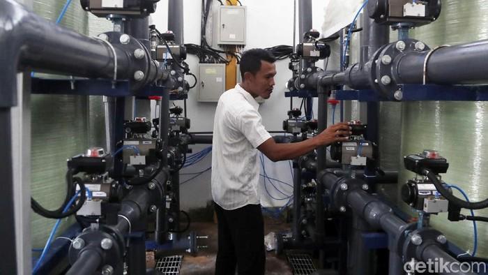 Dokumentasi pengolahan air laut (Foto: Pradita Utama/detikcom)