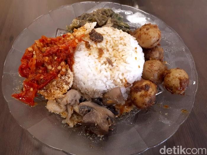 Hidangan Minang Vegetarian di Loka Padang Foto: dok. detikFood