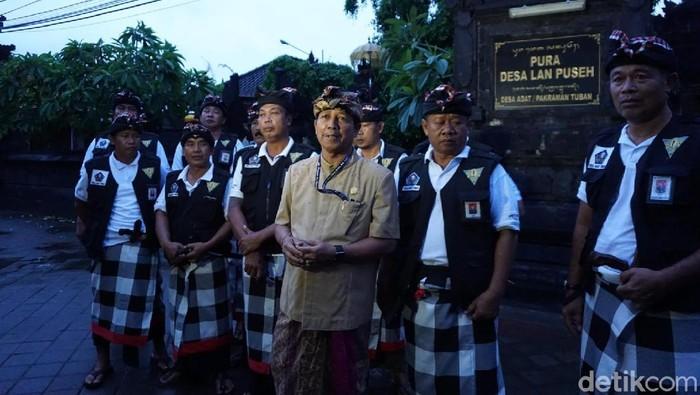 Foto: Suasana Nyepi di Bali (Dita-detikcom)