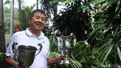 Legenda Bulutangkis Rudy Hartono Jatuh Saat Sepedaan, Dirawat di RS