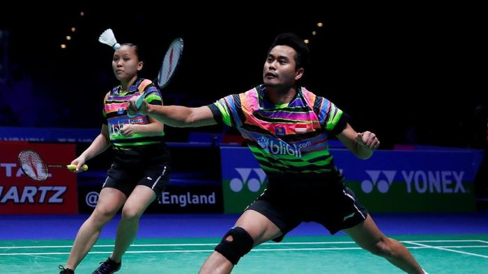Tontowi Ahmad/Winny Oktavina Kandow tak mematok target tinggi di Indonesia Open 2019. (Action Images via Reuters / Andrew Boyers)