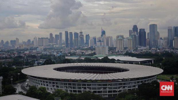 GBK menjadi alternatif Sirkuit Formula E Jakarta.