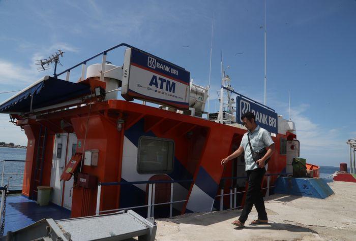 Teras BRI Kapal Bahtera Seva I/Foto: Pradita Utama/detikcom