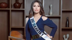 Frederika Alexis Cull dari DKI Jakarta Juara Puteri Indonesia 2019