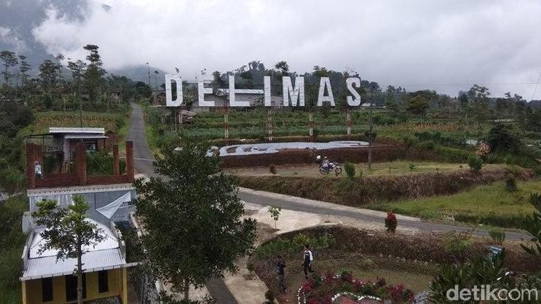 Foto: Curug Delimas di Kabupaten Magelang (Eko Susanto/detikTravel)