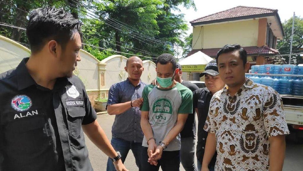 Polisi Tangkap Pemasok Sabu ke Eddo Eks Idol