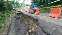 Jalan Nasional Ambles, Pemkab Trenggalek Desak BBPJN Lakukan Perbaikan