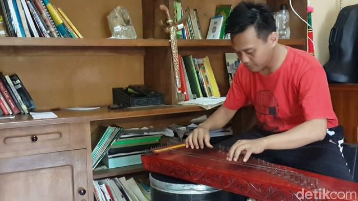 Antara musik dan ilmu hitung/Foto: Purwoto Sumodiharjo