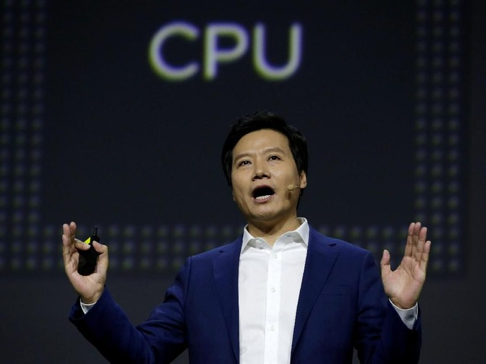 Xiaomi founder and CEO Lei Jun attends a launch ceremony of the new flagship phone Xiaomi Mi 9 in Beijing, China February 20, 2019. REUTERS/Jason Lee