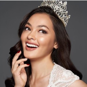 Wakil Indonesia Jolene Marie Masuk Top 8 Miss International 2019
