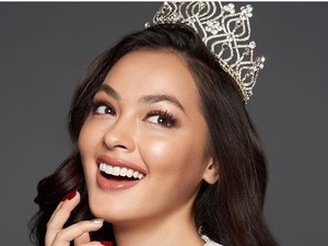 Wakil Indonesia Jolene Marie Masuk Top 8 Miss International 2019