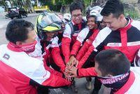Pertamina Lubricants Lepas Rombongan Touring Sabang-Gresik