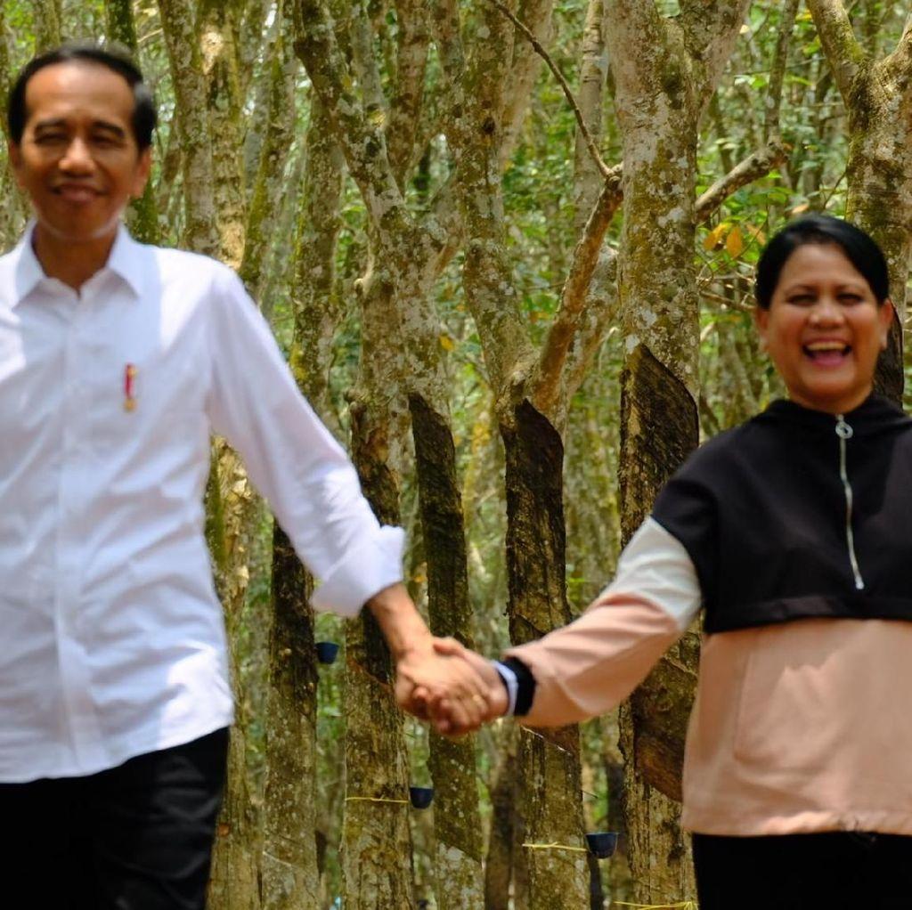 Bisa Aja Nih! Ungkapan Cinta Jokowi ke Iriana Bikin Baper