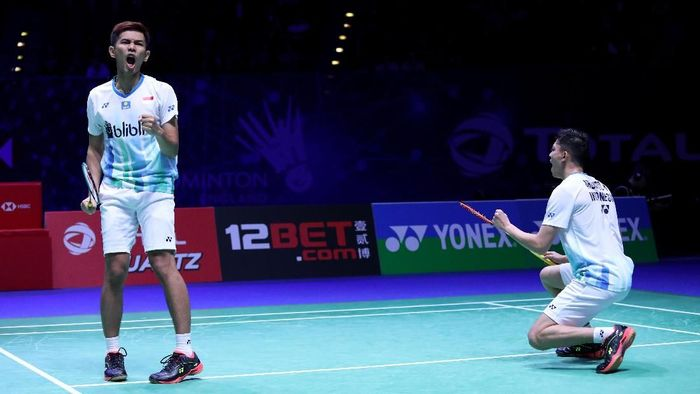 Fajar Alfian/Muhammad Rian Ardianto jadi salah satu wakil Indonesia yang ke semifinal All England 2019 (Foto: dok. Humas PBSI)