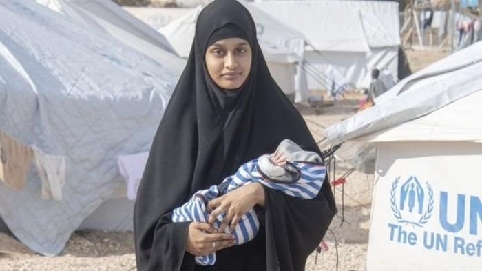 Bayi Shamima Begum meninggal di pengungsian Suriah, pemerintah Inggris dikecam