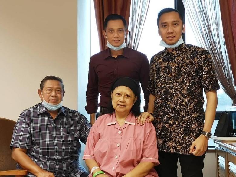 AHY: Ibu Ani Optimistis Kalahkan Kanker Darah