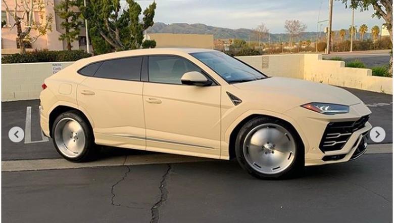 Modifikasi Lamborghini ala Kanye West Foto: dok. Instagram (cadetailstudio)