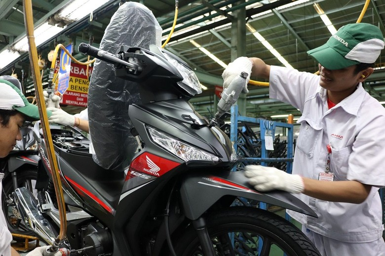 Honda Supra X. Foto: PT Astra Honda Motor