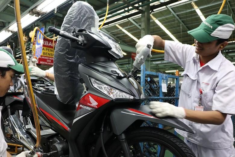 Motor bebek. Foto: PT Astra Honda Motor