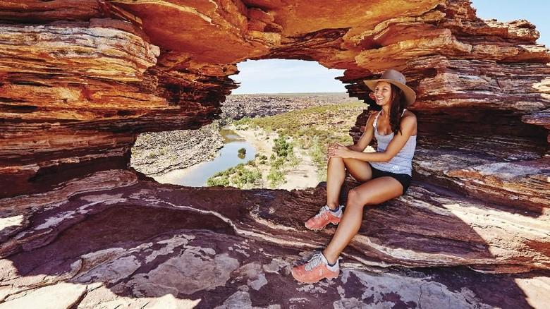 Pemandangan unik di Kalbarri, Australia Barat (Tourism Western Australia