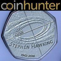 Stephen Hawking Diabadikan Jadi Uang Koin di Inggris
