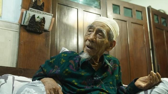 Almarhum KH Maimun Zubair (Mbah Moen) disebut punya riwayat diabetes (Foto: Didik Dwi H/20detik)