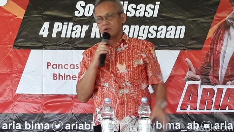 TKN Jokowi Sebut Prabowo-Sandi Punya Visi Misi Sendiri-sendiri