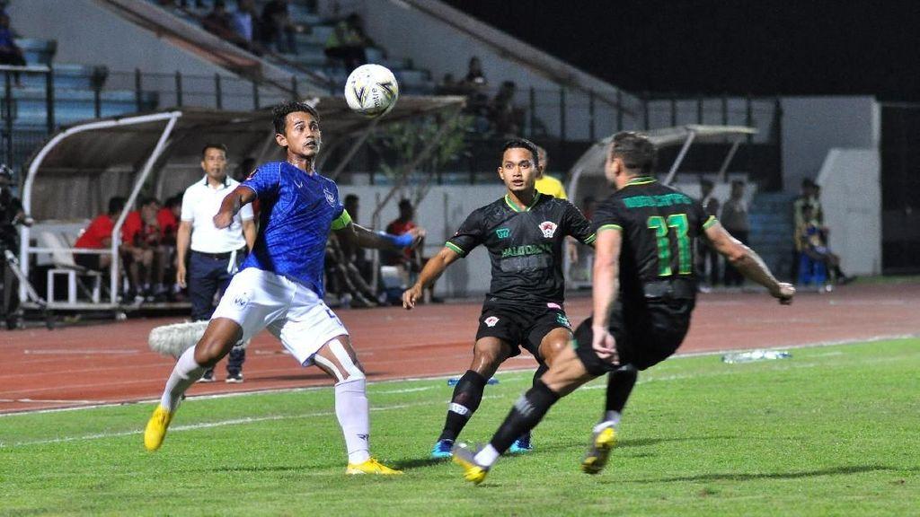 Gol di Injury Time Menangkan PSIS atas Kalteng Putra