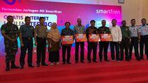 Sinyal Internet Smartfren Tembus di Pulau Terluar RI