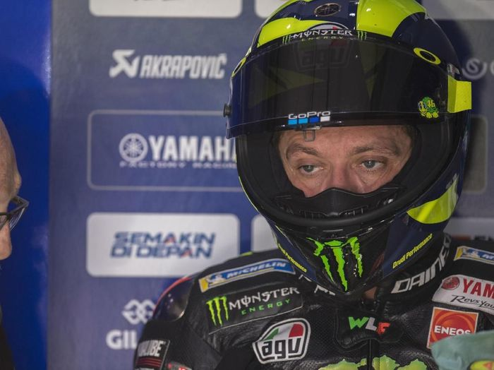 Pebalap Yamaha, Valentino Rossi. (Foto: Mirco Lazzari gp/Getty Images)