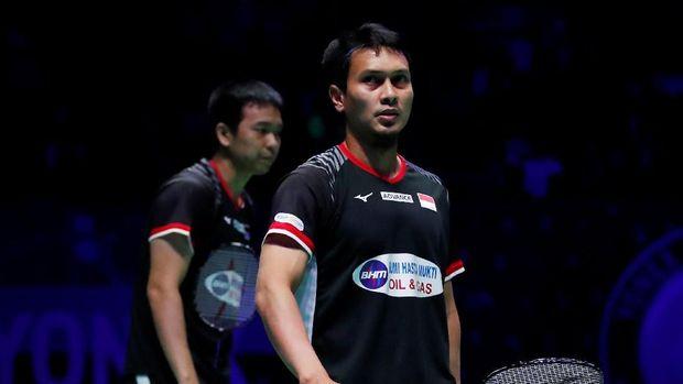 Mohammad Ahsan/Hendra Setiawan harus bermain dengan kondisi Hendra cedera di babak final.