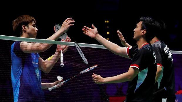 Jokowi Beri Selamat kepada Juara All England Ahsan/Hendra