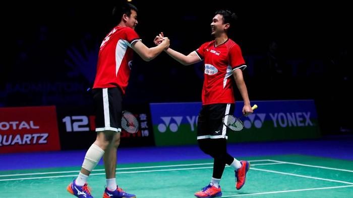 Mohammad Ahsan/Hendra Setiawan jadi satu-satunya wakil Indonesia yang lolos ke final All England 2019. Mereka mengalahkan Takeshi Kamura/Keigo Sonoda di semifinal.